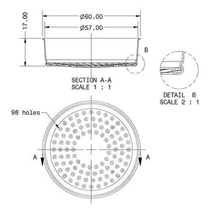 IMS E61 Competition Series Precision Shower Screen E61200IM