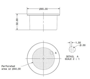 IMS Competition Series Precision Filter Basket for La Spaziale 18-21 gr.