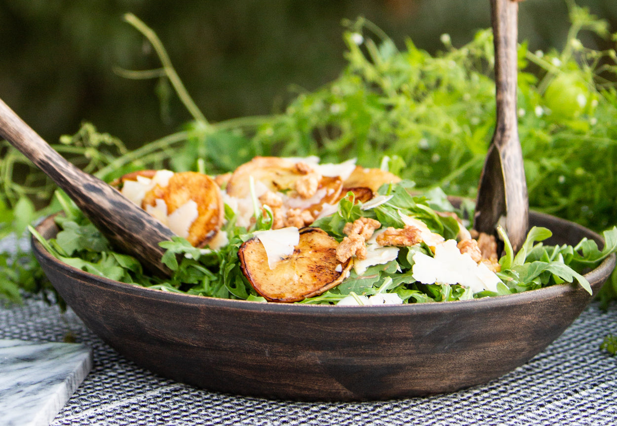 Arugula, Parmesan and Apple Salad