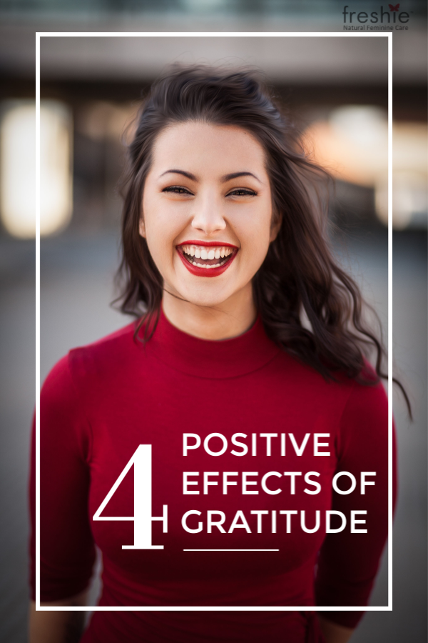 4 ways gratitude has a positive effect on you