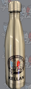 AYDMS - 600ml stainless steel - Silver or White water bottle