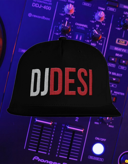 DJ DESI SNAP BACK CAP