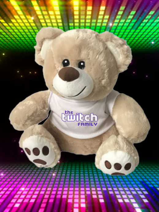 Twitchy the Teddy Bear