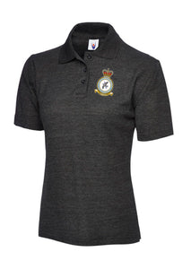 TCW CREST Embroidered Polo Shirt (ladies fit) - The Forces Shop