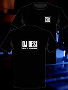 Dj Desi T-Shirt (2 sided design)