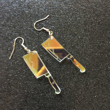 Load image into Gallery viewer, PREORDER* Iridescent Cleaver Earrings