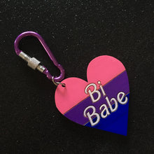 Load image into Gallery viewer, Bi Babe Keychain / Bagcharm