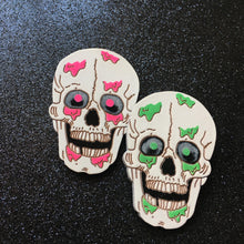 Load image into Gallery viewer, OH BOY! I'm Bleeding - Handpainted Wooden Pin