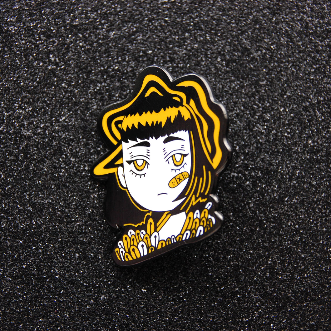 Bored Out of Your Mind Enamel Pin