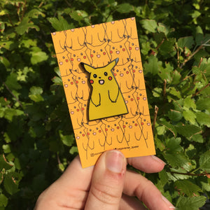 Cursed Pikachu Hard Enamel Pin