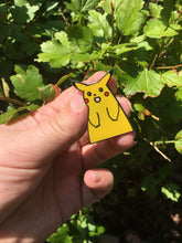 Load image into Gallery viewer, Cursed Pikachu Hard Enamel Pin