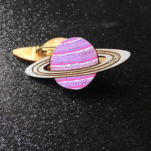 Load image into Gallery viewer, Planets! - Handpainted Wooden Pin
