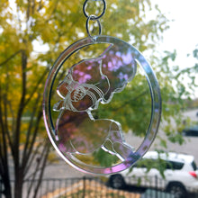 Load image into Gallery viewer, Iridescent Acrylic Shibari Suncatcher
