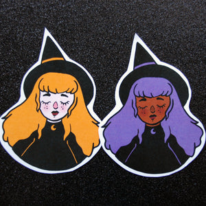Witches Sticker