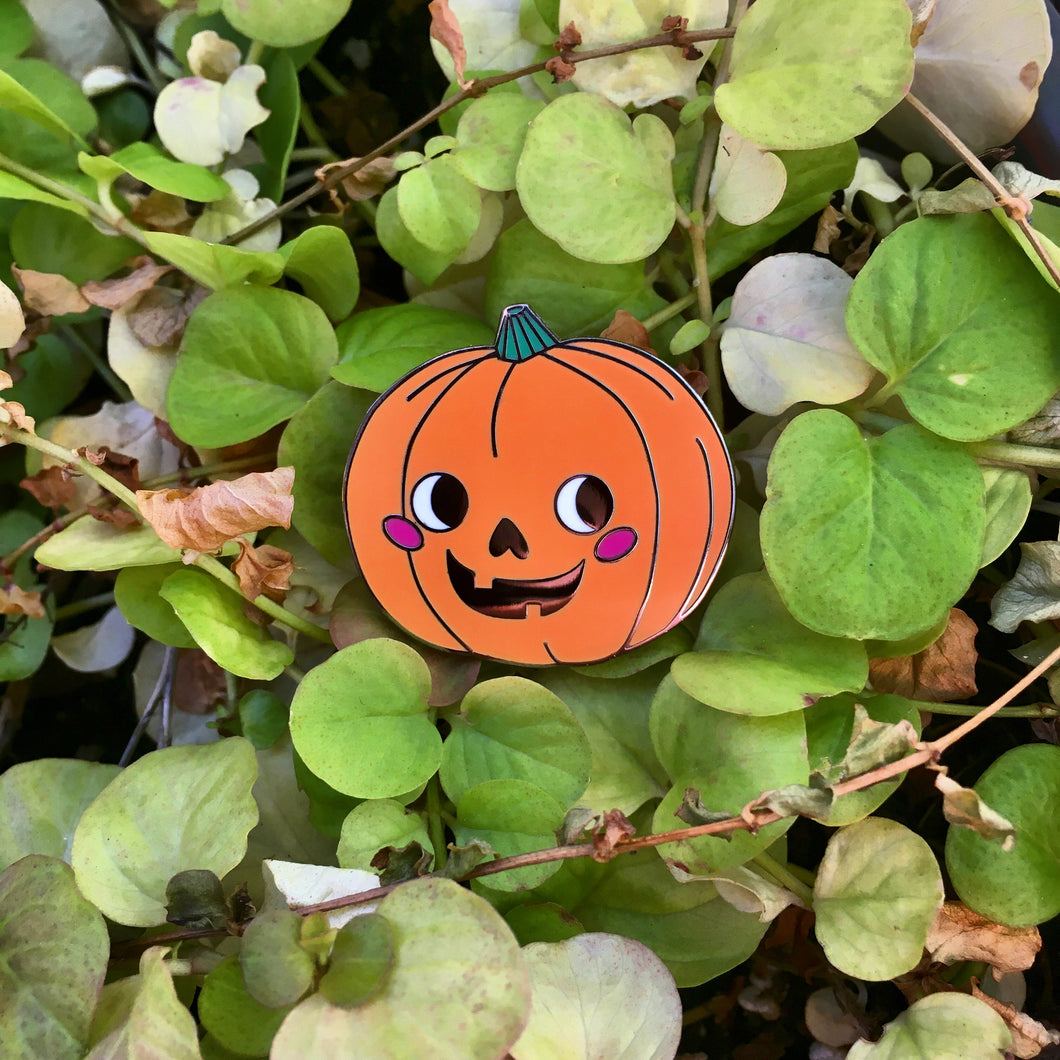 Happiest Jack O Lantern Hard Enamel Pin