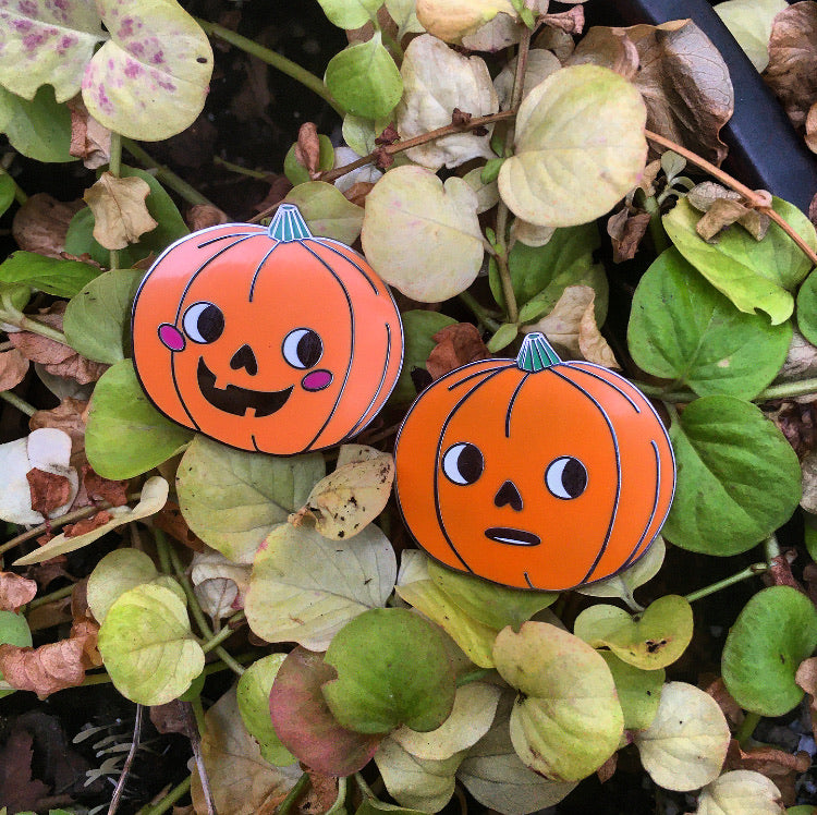 The Jack O Lantern Hard Enamel Pin Pack!