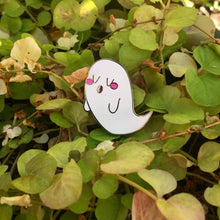 Load image into Gallery viewer, Blushing Ghost Hard Enamel Pin