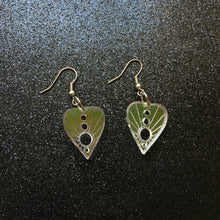 Load image into Gallery viewer, PREORDER* Iridescent Small Planchette Earrings