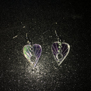 PREORDER* Iridescent Small Planchette Earrings