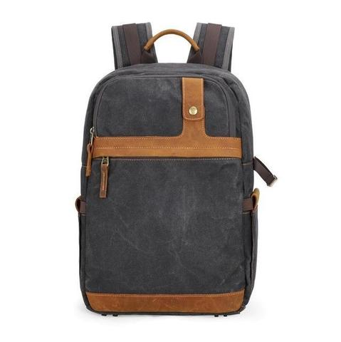 Best Canvas Camera Backpacks — Sunny 16 Minimalist Waxed Canvas Camera Bag — Sunny 16