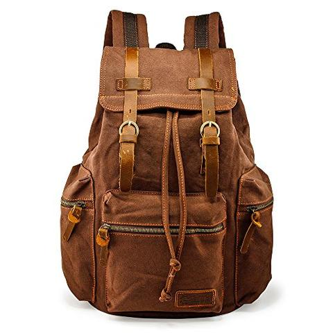 Best Canvas Camera Bags — GEARONIC Canvas CAmera Backpack — Sunny 16