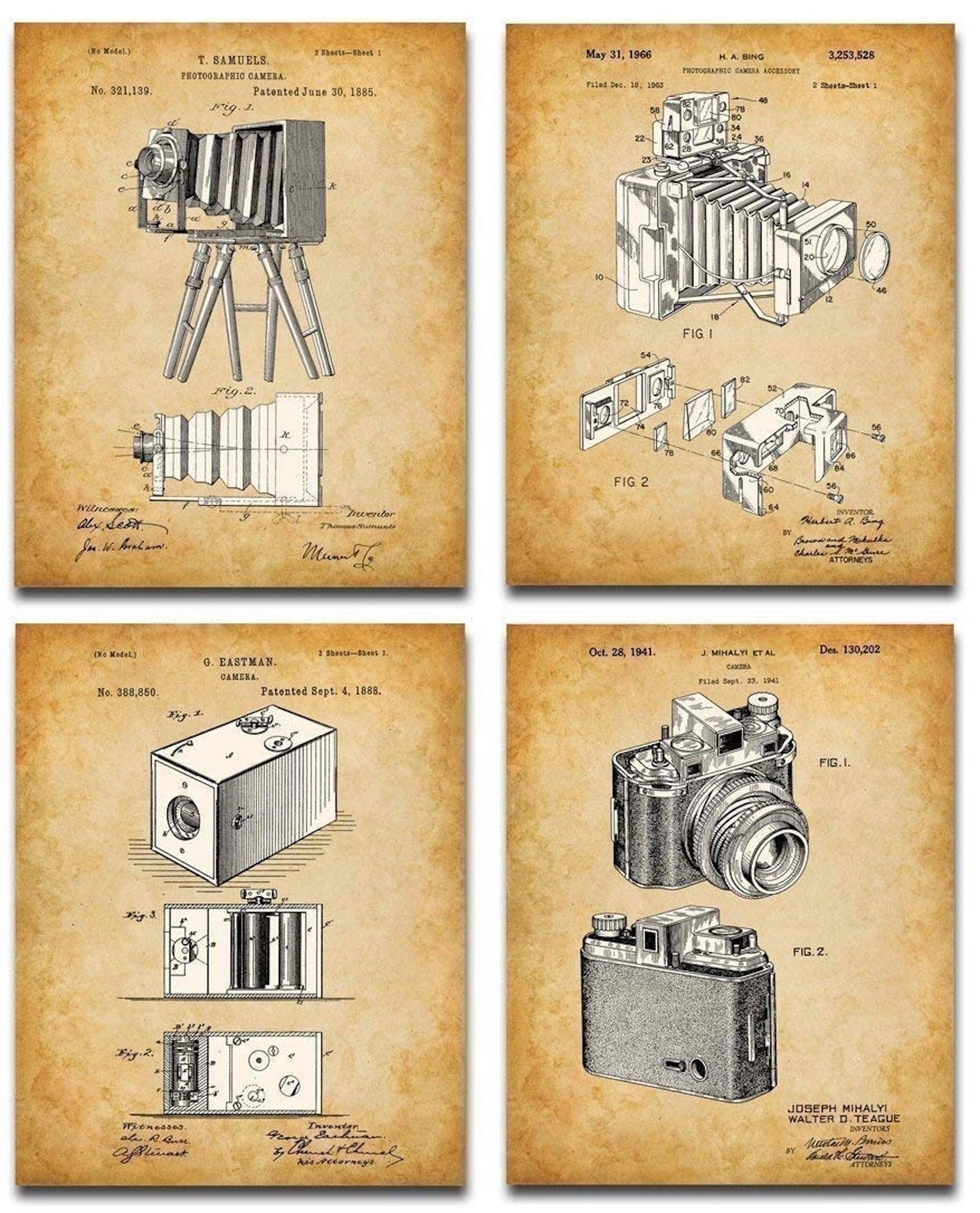 Best Photo Gifts for Photographers - Ideas Photographer Lovers - Camera Manual