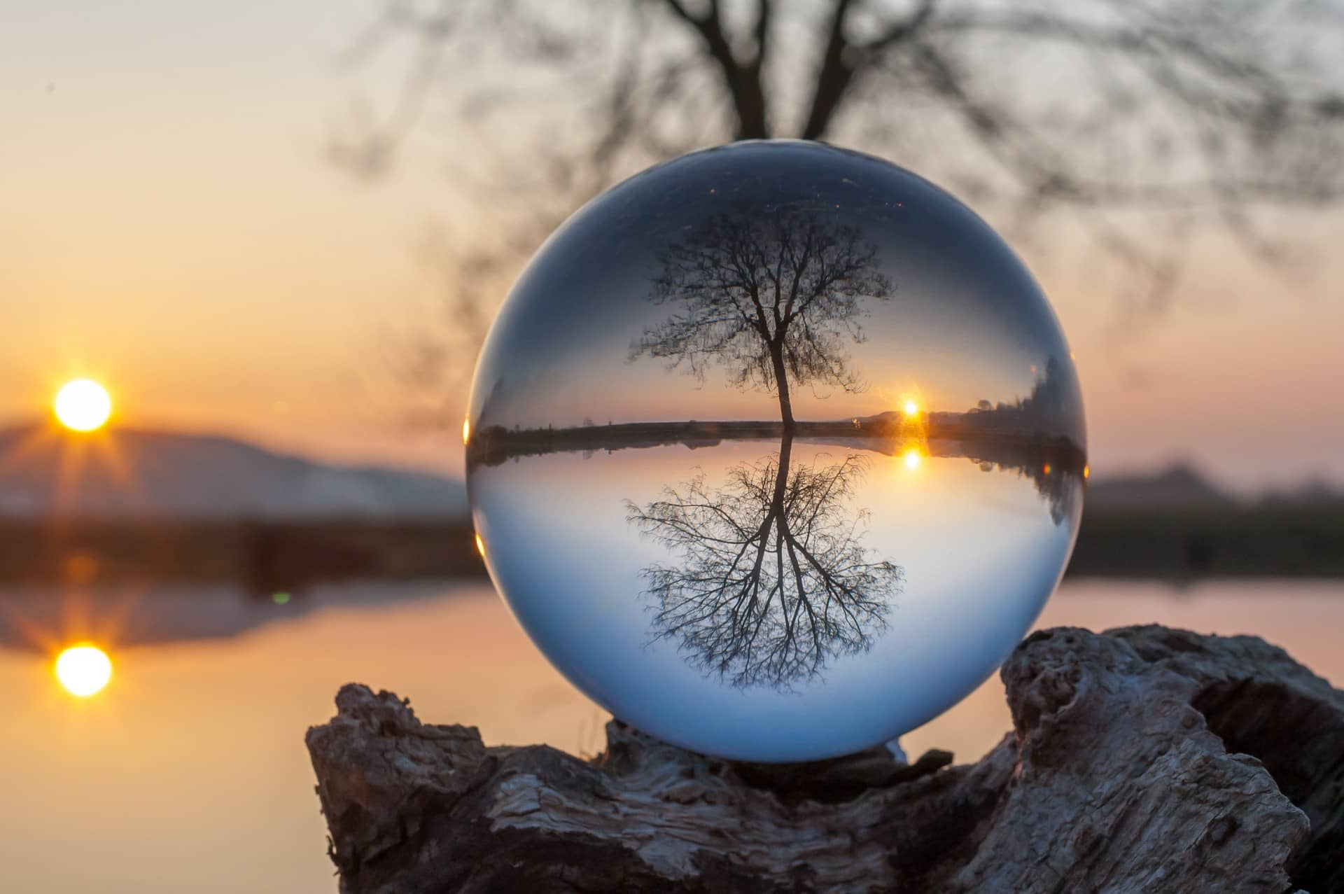 Best Photo Gifts for Photographers - Ideas Photographer Lovers - Glass Ball Technique