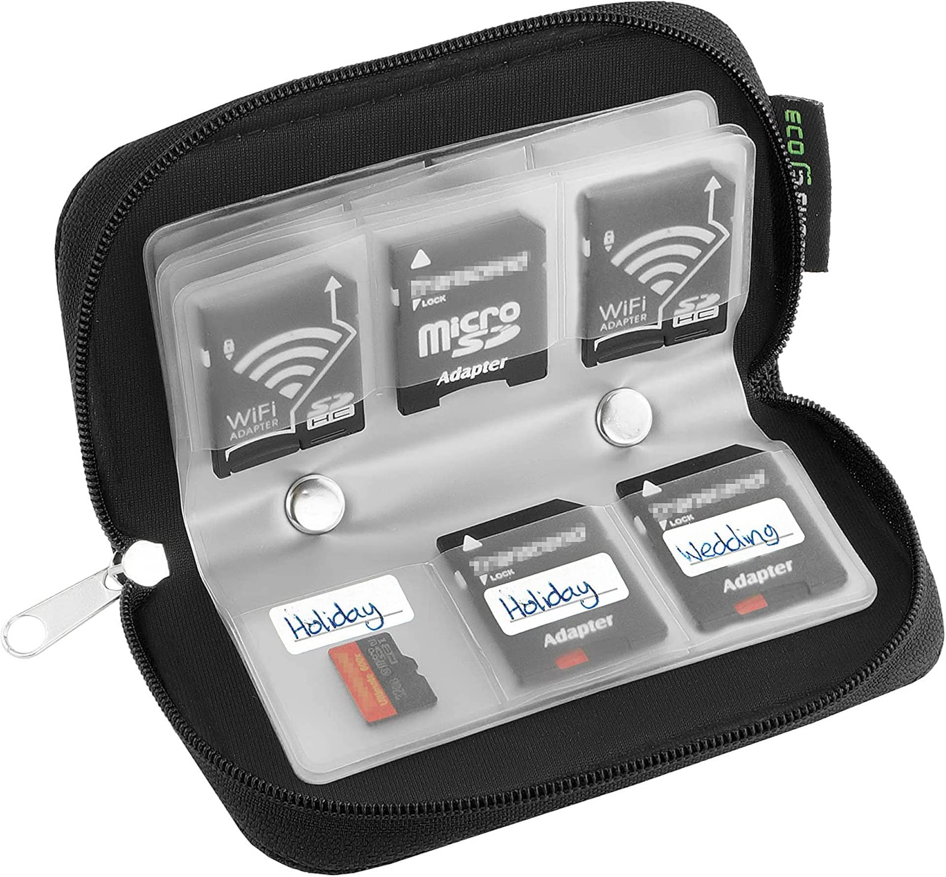 Best Photo Gifts for Photographers - Ideas Photographer Lovers - Memory Card Holder