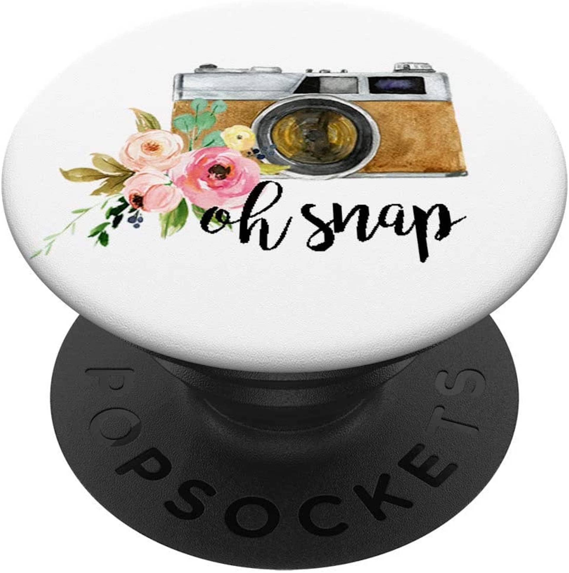 Best Photo Gifts for Photographers - Ideas Photographer Lovers - Popsocket Pin