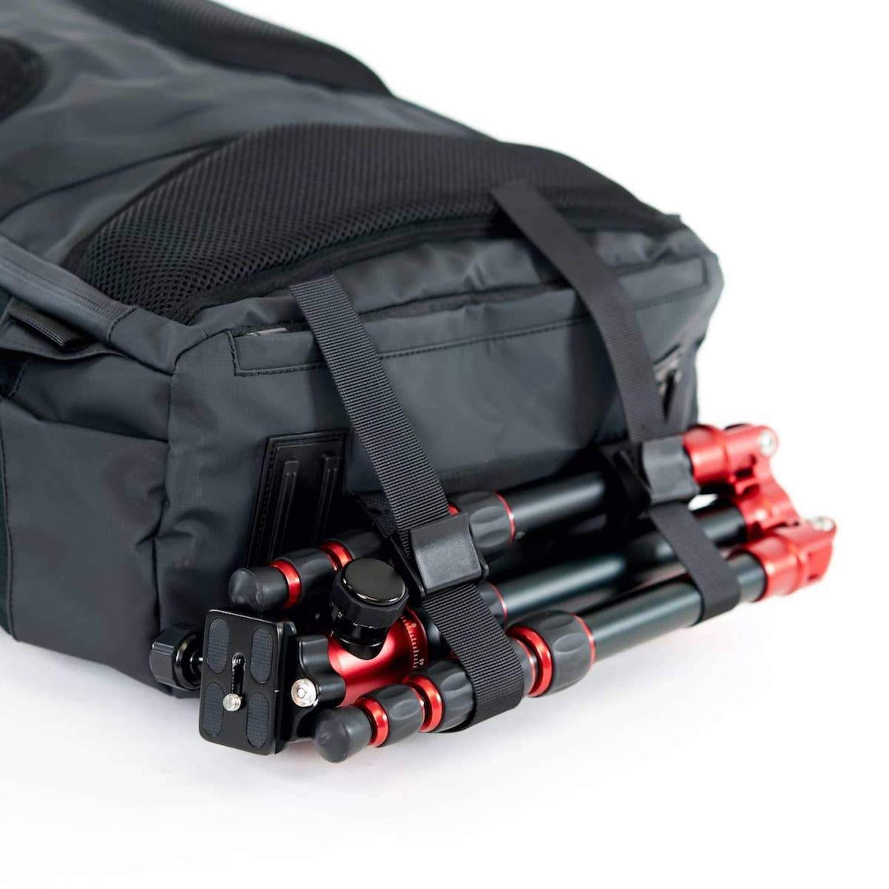 Best Sports Camera - Best Camera for Sports Photography - Tripod on Camera Bag