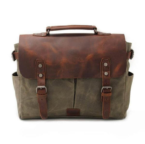 Best Vintage Backpacks - The Explorer Vintage Retro Camera Bag