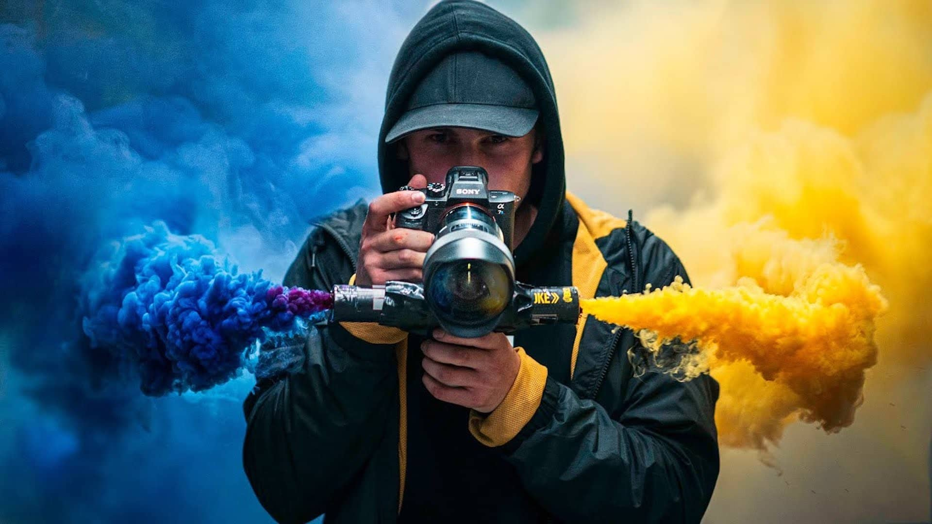 Color Smoke Bomb Photography Ideas - Pictures - Sunny 16