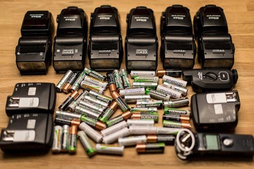 Flash Photography Tips — Spare Flash Batteries — Sunny 16