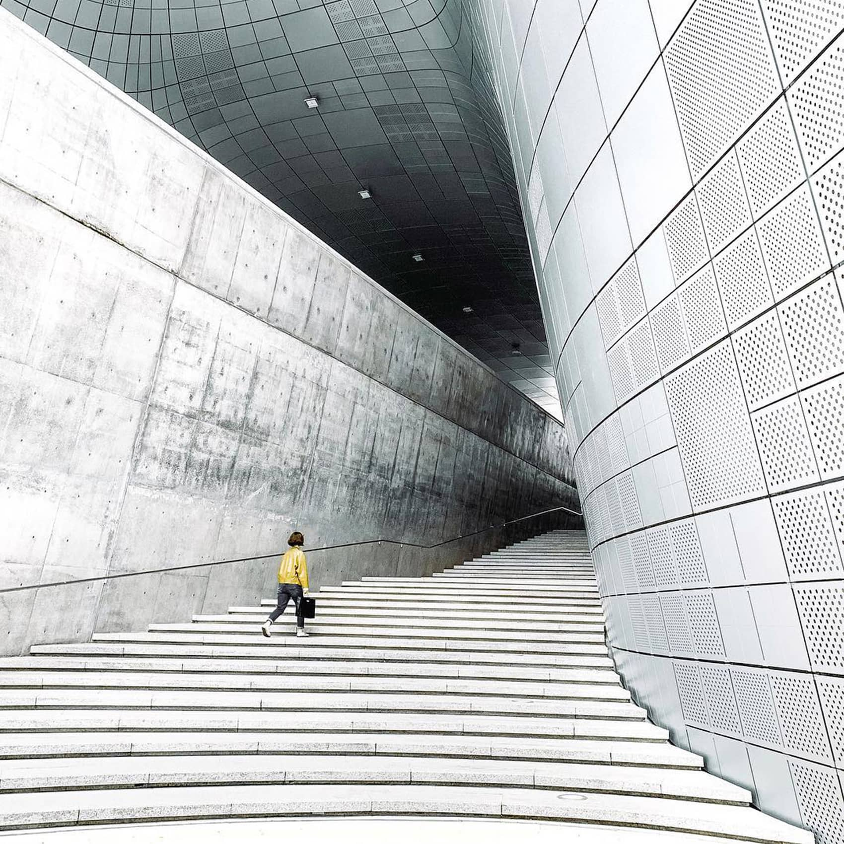 Interior Architecture Photography - Abstract Building Photo