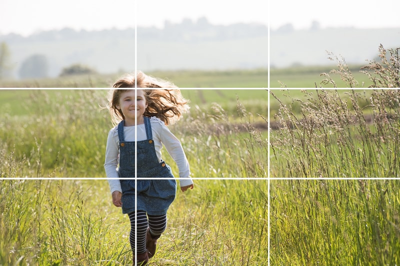 Rule of Thirds in Fotography - Rule of Thirds Example - Sunny 16