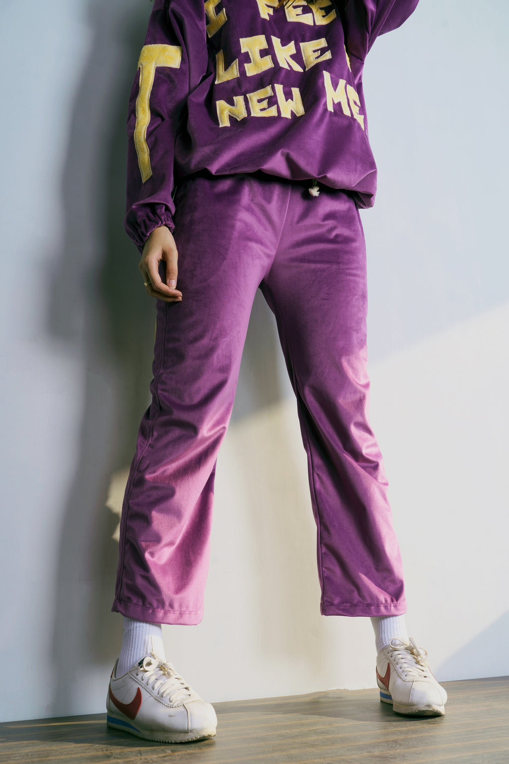 Purple Velour Pyjama