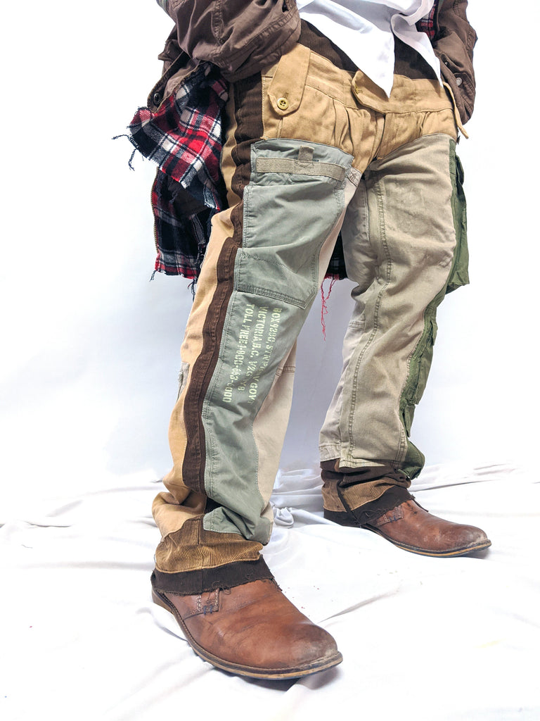 Earthly Upcycled Cargo Pants