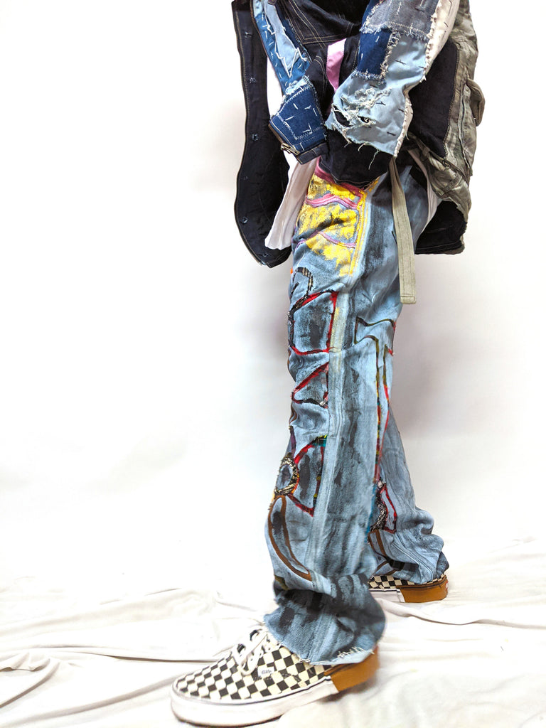 Denim Upcycled Jeans