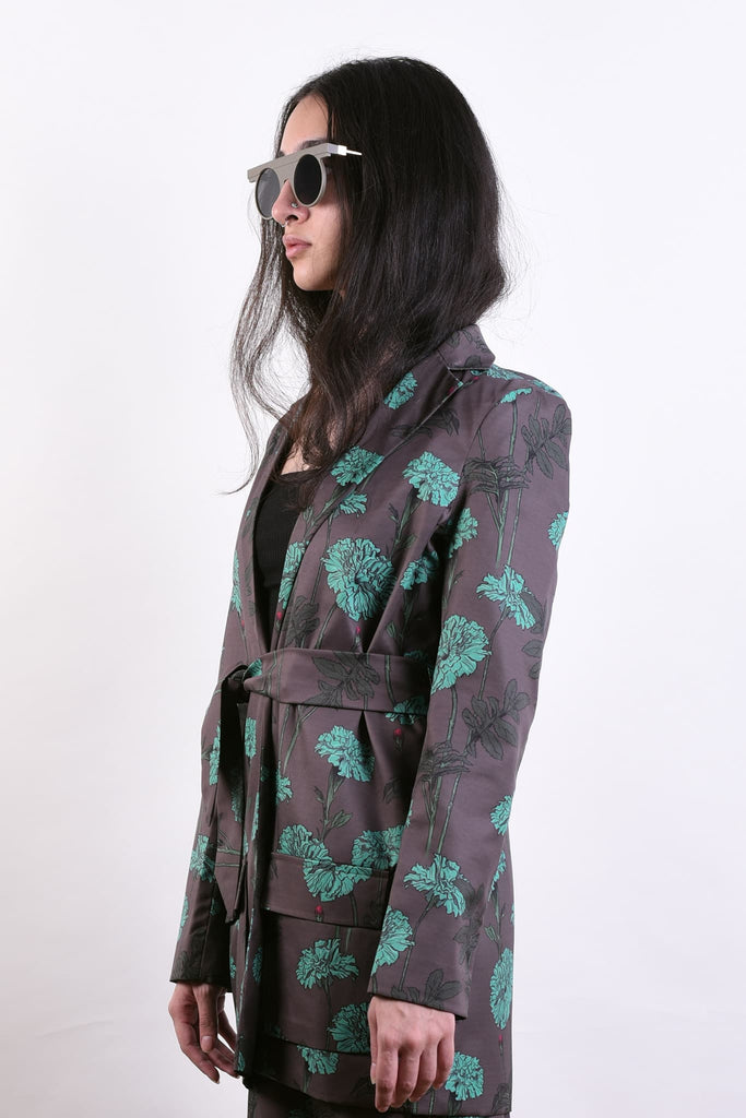 Marigold Blues Wraparound Jacket
