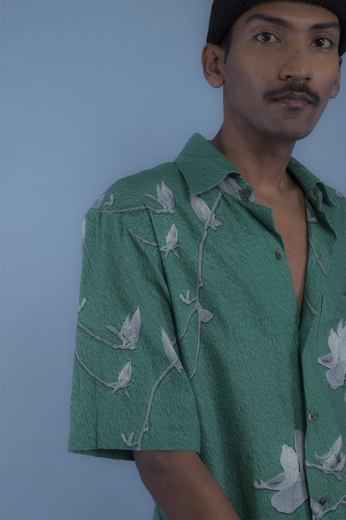 Oil Paint Shirt (Green)