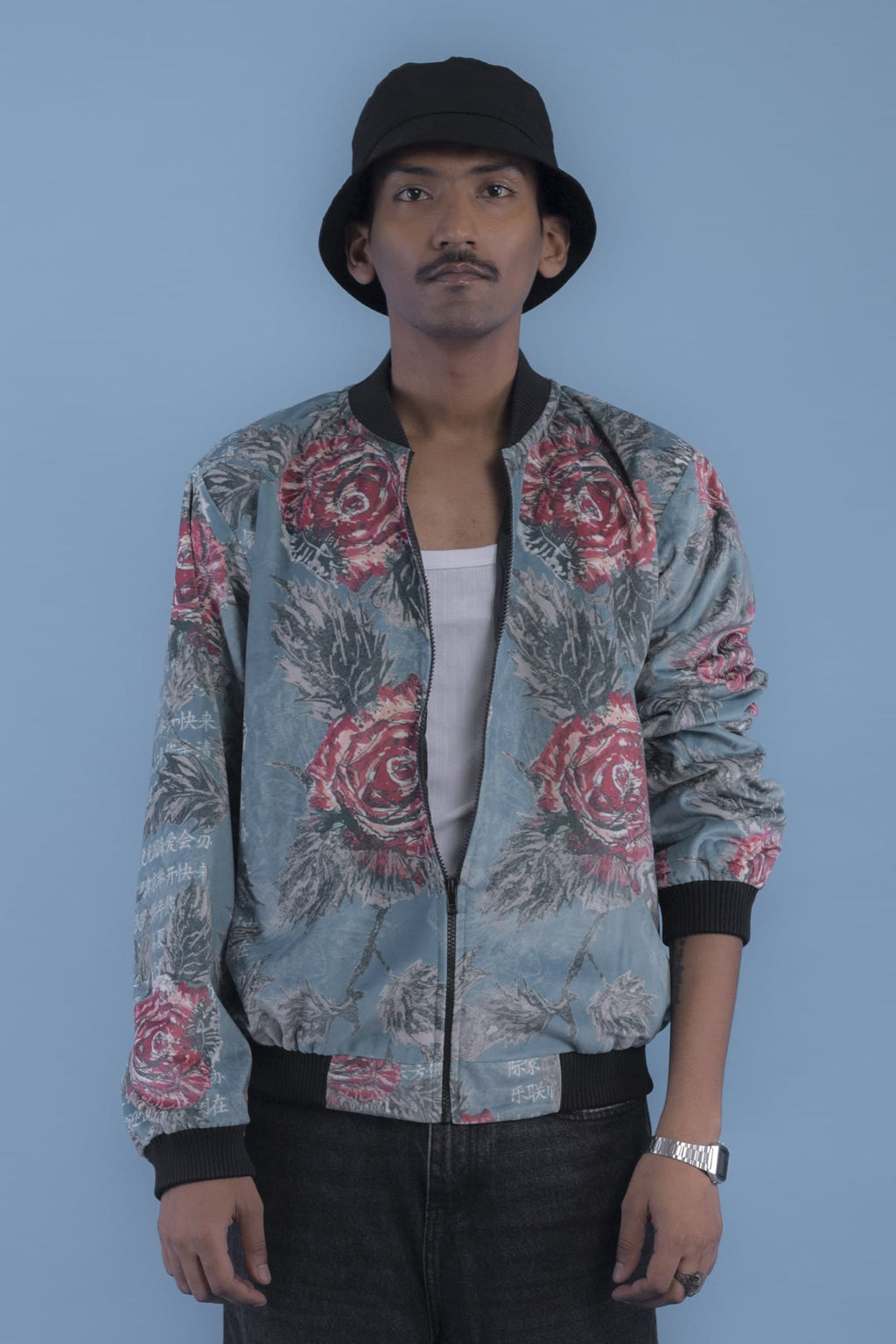 Rose Scripture Bomber