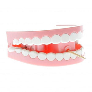 Chattering Novelty Toothpick Dispenser