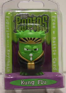 Kung Flu - Bogies Rare Collectible Keyring Snot  Figurine and Battle Card