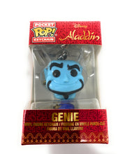 Load image into Gallery viewer, Disney Aladdin Genie Funko Pocket Pop Keychain