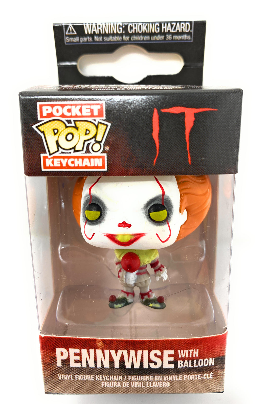 Pennywise IT Clown Funco Pocket Pop Keychain