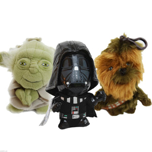 "Star Wars 4"" Plush  keyring"
