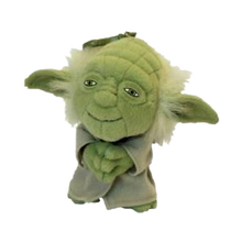 "Load image into Gallery viewer, Star Wars 4"" Plush Yoda keyring"
