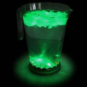 Party Pitcher LED Lights Cocktail Drinks Jug in green