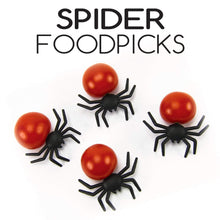 Load image into Gallery viewer, Spider Food Picks