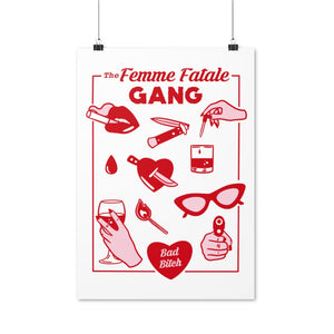 The Femme Fatale Gang - print